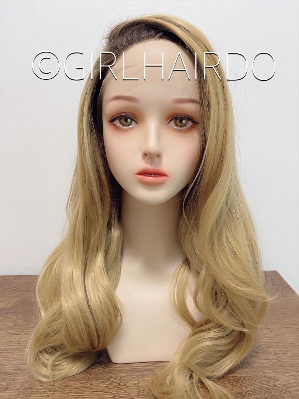 New premium golden blonde lace wigs