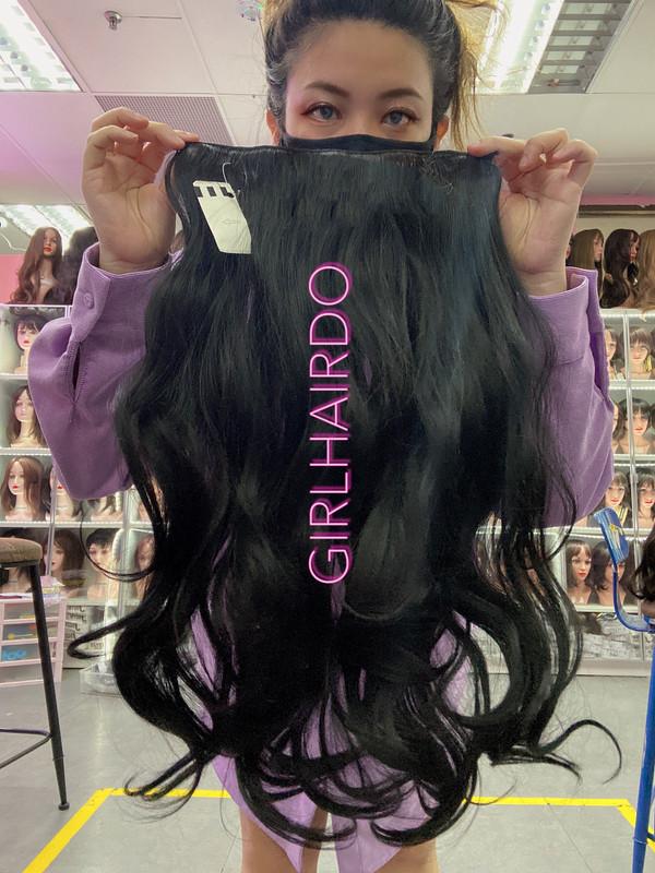 005 JET BLACK HAIR