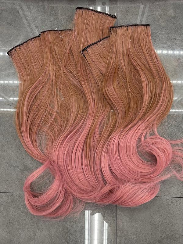 Brown pink x5