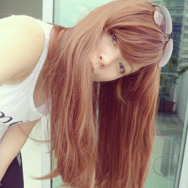 #7628 Non Shiny Realistic Super Long Full Wig