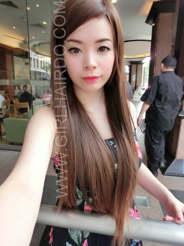 long straight rebonded wig by girlhairdo