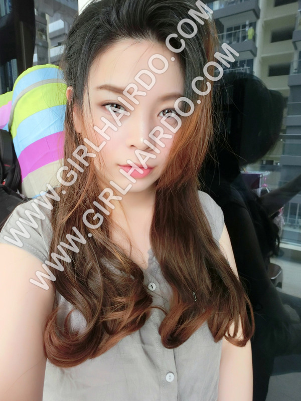 #002W LIGHT BROWN WAVE HAIR EXTENSIONS
