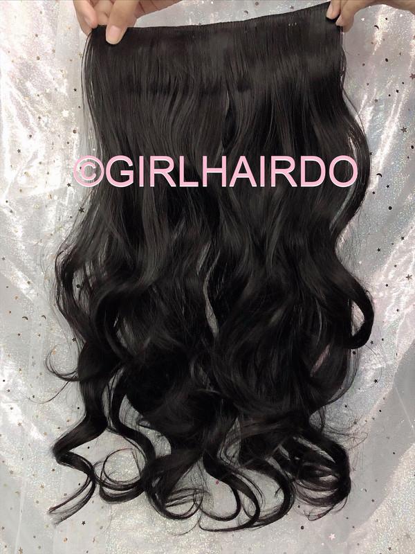 H005/2 Natural Black Hair Extensions