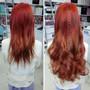 H005/35 Orange Brown Hair Extensions