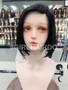 100% premium human hair bob wig with scalp hair line