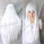 #White Cosplay Animae Wig