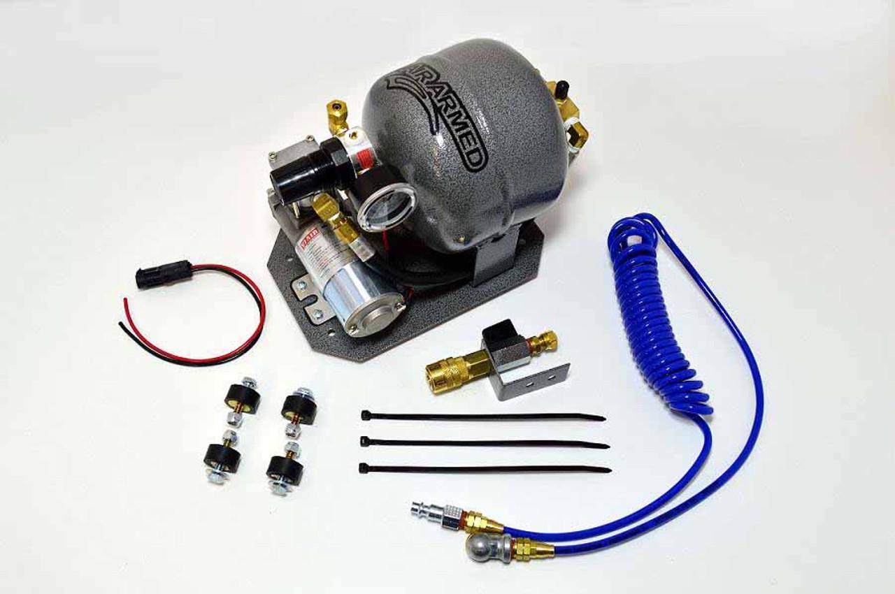K&R Performance Engineering On Board Air Pump System