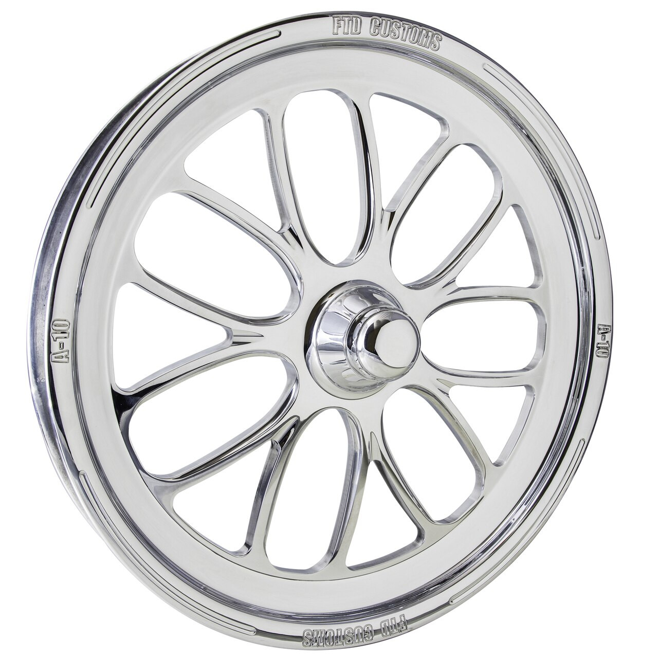 FTD Customs A-10 Dragster Front Wheel