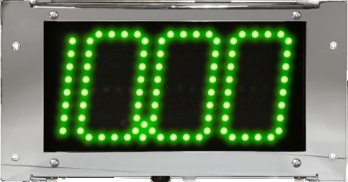Digital Delay Chrome Display LED Dial Board