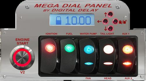 Digital Delay Elite Mega Dial Panel
