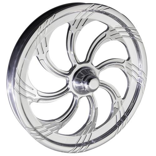 FTD Slasher Polished Dragster Front Wheels