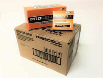 Duracell Procell AA Alkaline Batteries - Case of 144