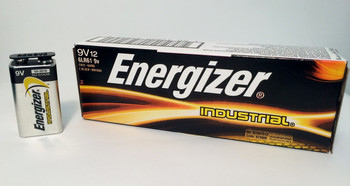 Energizer Industrial 9 Volt Alkaline Batteries - Box of 12