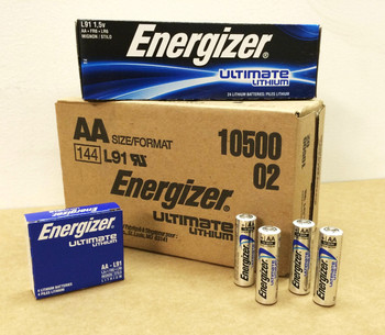 Energizer Ultimate Lithium AA Batteries - Box of 24