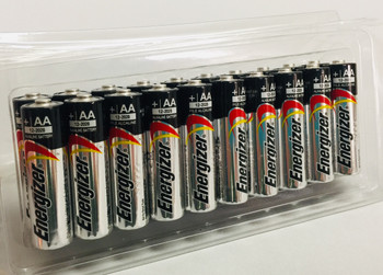 Energizer Max Alkaline AA Batteries - Box of 20
