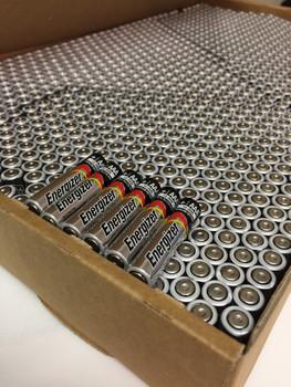 Energizer Max Alkaline AAA Batteries - Case of 1,189