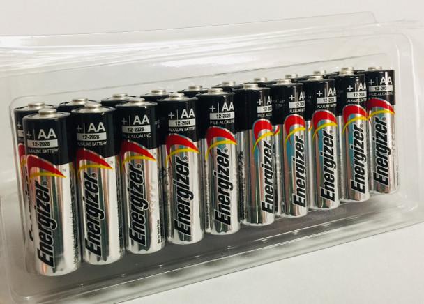 Energizer Max Alkaline AA Batteries - Box of 20