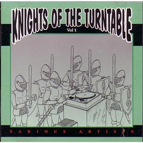 Knights Of The Turntable - Various Artists (LP)
