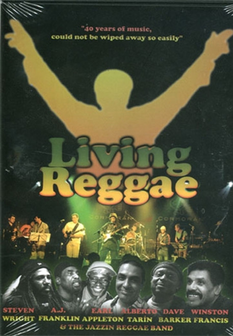 "Living Reggae ""40 Years Of Music"" 2dvd + 1cd Set - Various Artists (DVD)"