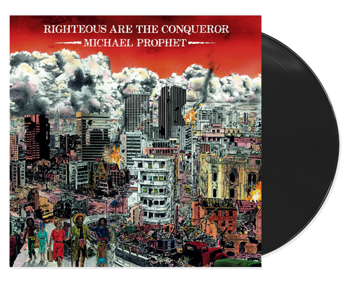 Righteous Are The Conqueror - Michael Prophet (LP)