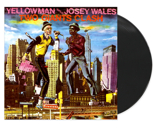 Two Giants Clash - Yellowman & Josey Wales (LP)