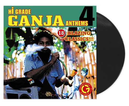 Hi-grade Ganja Anthems 4 - Various Artists (LP)