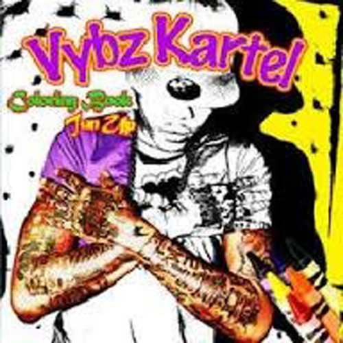 Colouring Book Tun Up - Vybz Kartel