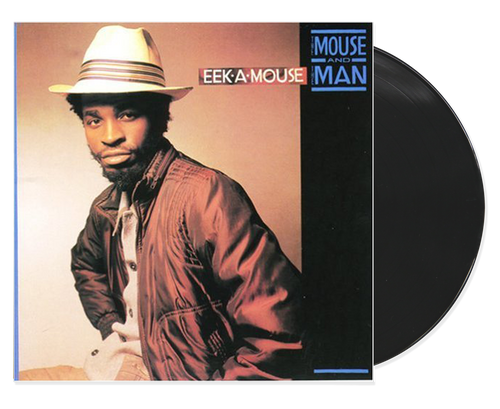 The Mouse & The Man - Eek-a-mouse (LP)