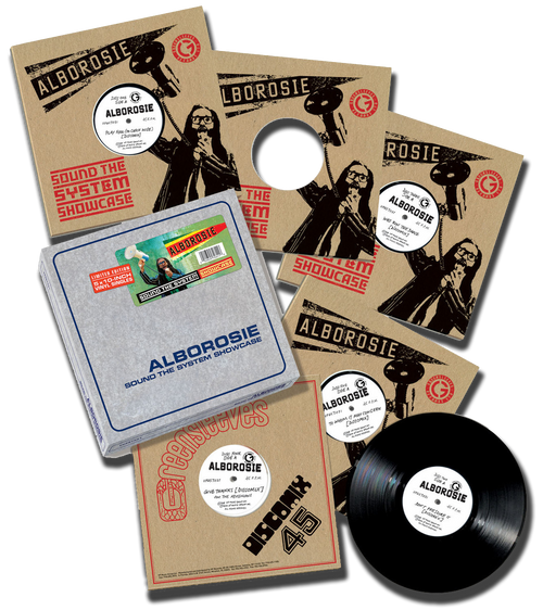 "Sound The System Showcase (10"" Vinyl Box Set) - Alborosie"