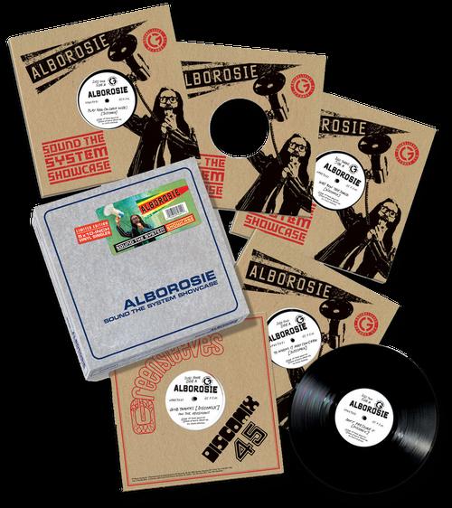 """Sound The System Showcase (10"""" Vinyl Box Set) - Alborosie"""