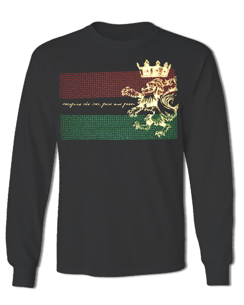 ITES GOLD & GREEN LONG SLEEVE