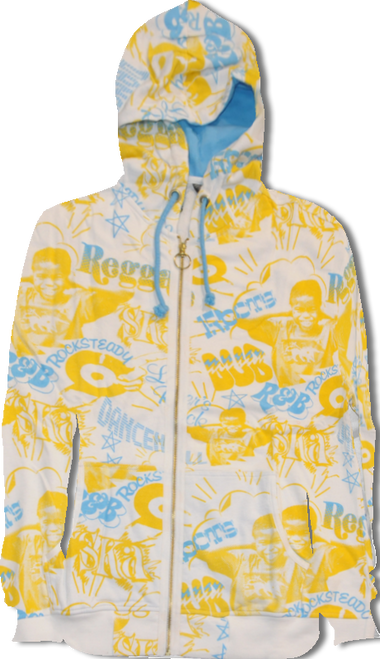 FLEECE JERSEY MUSIC JACKET