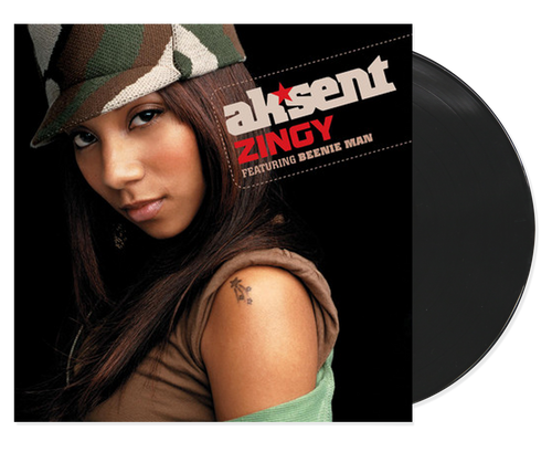 Zingy - Ak'sent Feat. Beenie Man (12 Inch Vinyl)