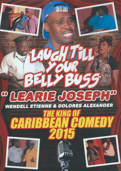 The King Of Caribbean Comedy 2015 - Learie Joseph (DVD)