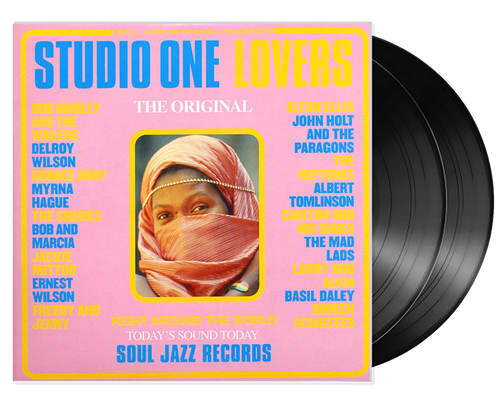 Studio One Lovers 2lp - Various Artists (LP)
