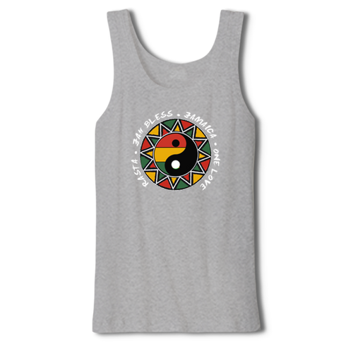YING YANG MEN TANK TOP