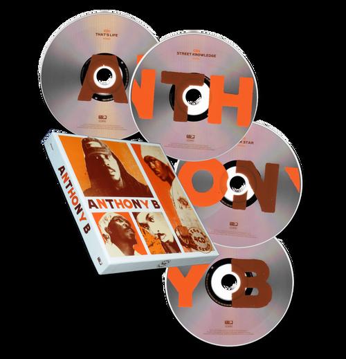Reggae Legends Anthony B (4CD Box Set) - Anthony B