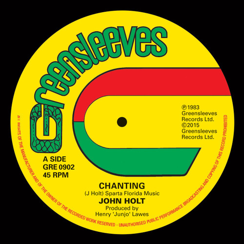 Chanting - John Holt (7 Inch Vinyl)
