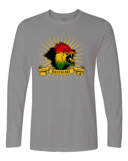 RASTAFARI LION MEN (LS)