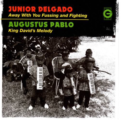 Away With You Fussing And Fighting - Junior Delgado (7 Inch Vinyl)
