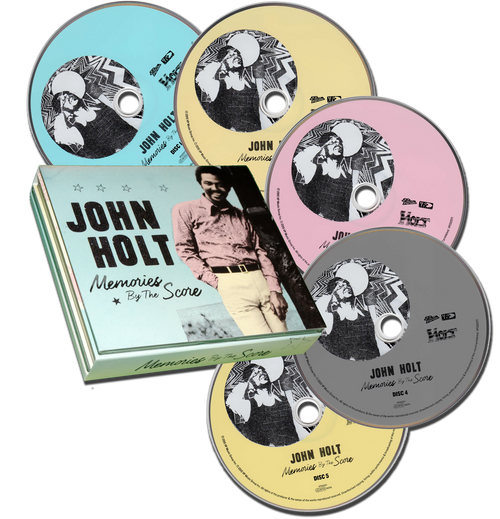 Memories By The Score (5cd Set) - John Holt