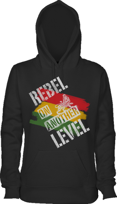 REBEL ON ANOTHER HOODIE