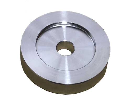 45 Adapter Flat Aluminum - Turntable Adapter