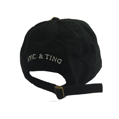 Epic & Ting Hat Black Unisex Bulby York Album - Unisex
