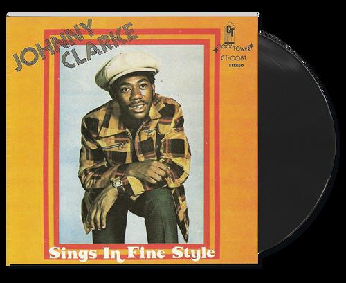 Sings In Fine Style - Johnny Clarke (LP)