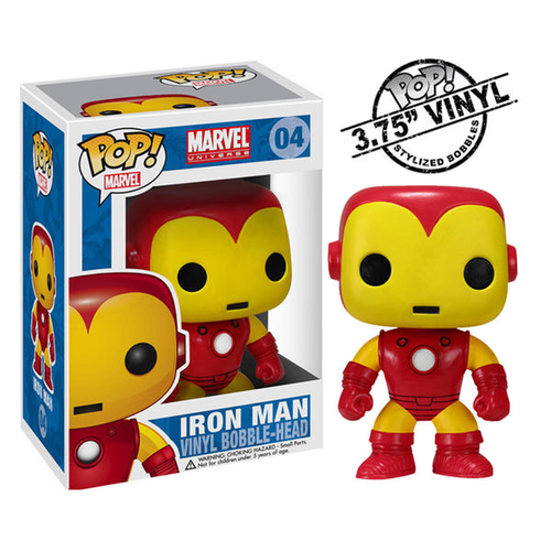 Iron Man (Limited Edition) Pop Marvel Bobble-he - Iron Man