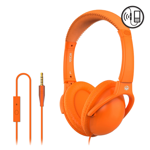 Orange MQbix Headphone W /mic