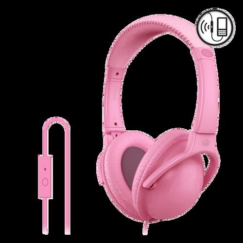 Pink MQbix Headphone w/ Mic