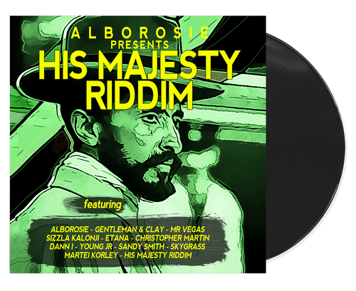 Alborosie Presents His Majesty Riddim - Various Artists (LP)