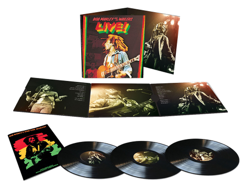 Bob Marley Live! Lyceum Theater In London 1975 - Bob Marley And The Wailers (LP)